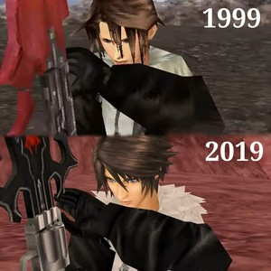 Squall Leonhart FROM 1999 TO 2019