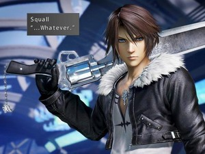 Squall Leonhart WHATEVER