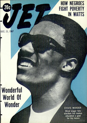 Stevie Wonder On The Cover Of Jet