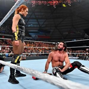 Stomping Grounds 2019 ~ Baron Corbin vs Seth Rollins (Universal Championship)
