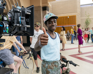Stranger Things 3 - Behind the Scenes - Caleb McLaughlin