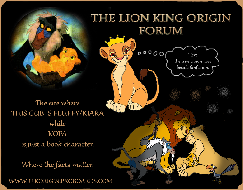 THE LION KING ORIGIN FORUM