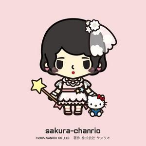 Takahashi Minami sanrio Creations - Miyawaki Sakura