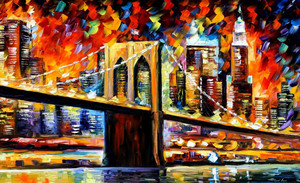 The Brooklym Bridge