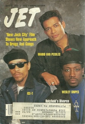The Cast Of New Jack City On The Cover Of Jet