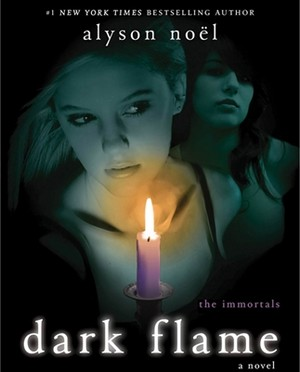The Immortals Series - Dark Flame Cover