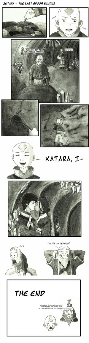 The Last Spoon Bender Zutara Comic