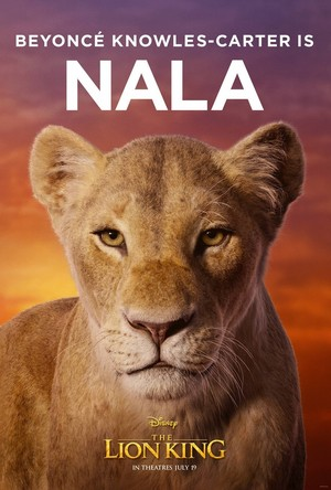 The Lion King poster - Nala
