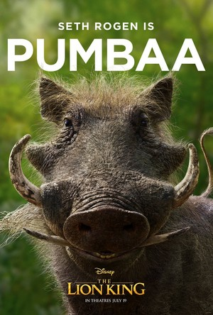 The Lion King poster - Pumbaa