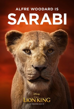 The Lion King poster - Sarabi