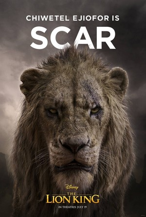 The Lion King poster - Scar