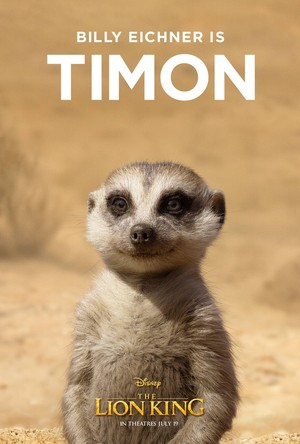 The Lion King poster - Timon
