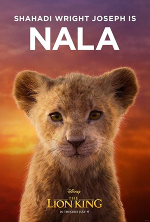 The Lion King poster - Young Nala