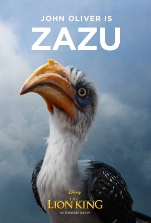 The Lion King poster - Zazu