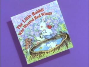 The Little Rabbit Who Wanted Red Wings titlecard