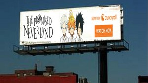 The Promised Neverland in Billboard