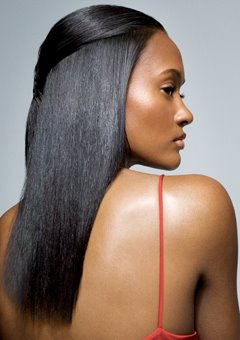 The Relaxer Straightening Perm