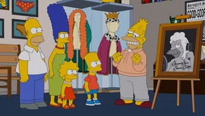"The Simpsons ~ 24x14 ""Gorgeous Grampa"""