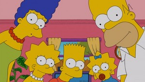 "The Simpsons ~ 24x18 ""Pulpit Friction"""