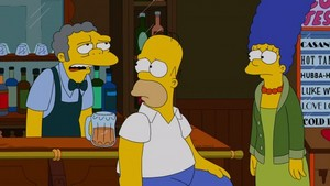"The Simpsons ~ 24x19 ""Whiskey Business"""