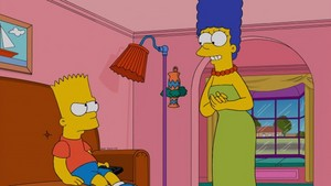 """The Simpsons ~ 24x20 """"The Fabulous Faker Boy"""""""