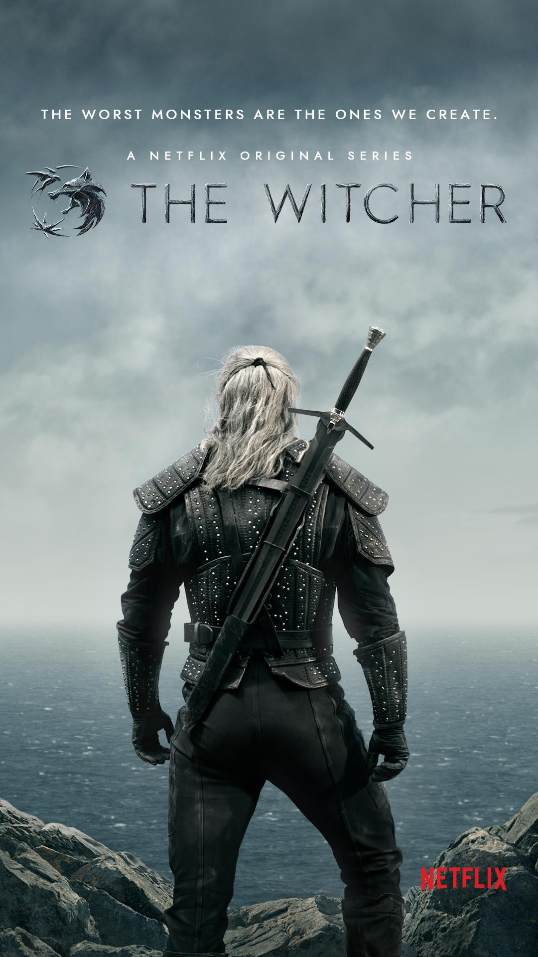 The Witcher - Season 1 Poster - Henry Cavill as Geralt of