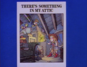 There's Something In My Attic titlecard