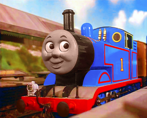 Thomas and Percy fell into the coal