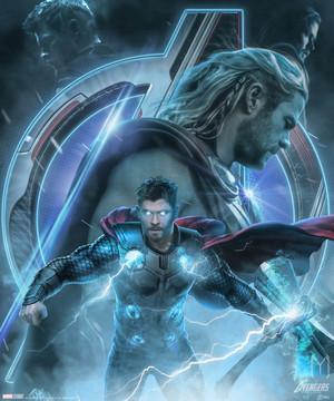 Thor Avengers Endgame character poster