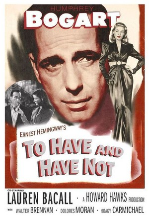 'To Have And Have Not' film poster