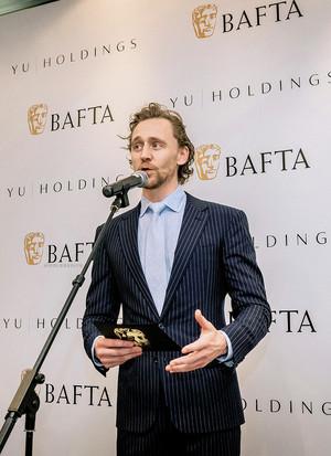 Tom Hiddleston - BAFTA Breakthrough China event 2019