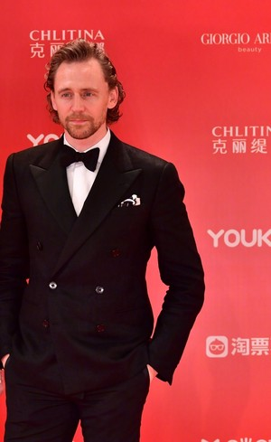 Tom Hiddleston at Shanghai International Film Festival on June 23, 2019 in Shanghai, China