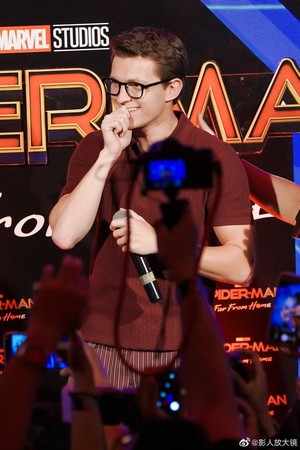 Tom Holland ~Spider-Man: Far From 首页 粉丝 Event, Indonesia (May 27, 2019)