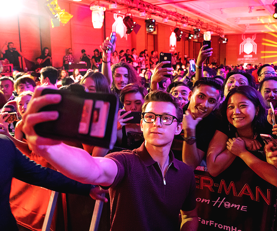 Tom Holland ~Spider-Man: Far From Home Fan Event, Indonesia (May 27, 2019)