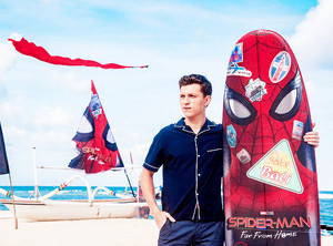 Tom Holland -Spider-Man: Far From ホーム Indonesia 写真 Call