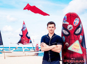Tom Holland -Spider-Man: Far From inicial Indonesia foto Call