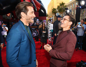 Tom Holland and Jake Gyllenhaal -Spider-Man Far From nyumbani premiere in Hollywood, CA (June 26, 2019)