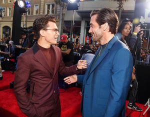 Tom Holland and Jake Gyllenhaal -Spider-Man Far From tahanan premiere in Hollywood, CA (June 26, 2019)