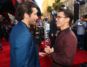 Tom Holland and Jake Gyllenhaal -Spider-Man: Far From tahanan premiere in Hollywood, CA (June 26, 2019)