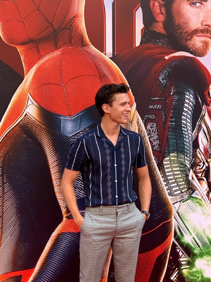 Tom at the Spider-Man: Far From utama press event in Beijing (June 11, 2019)