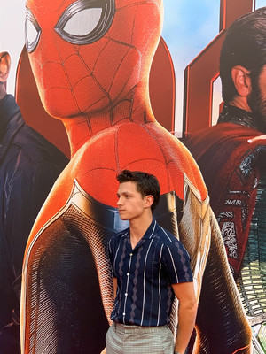 Tom at the Spider-Man: Far From घर press event in Beijing (June 11, 2019)