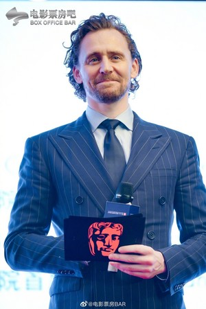 Tom at the launch of 'BAFTA Breakthrough China' Initiative on June 21, 2019 in Shanghai, China