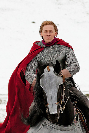 Tom in The Hollow Crown - BTS
