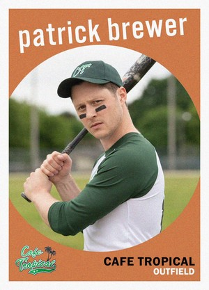 Trading Card ~ Patrick Brewer (5x09 'The M.V.P.')