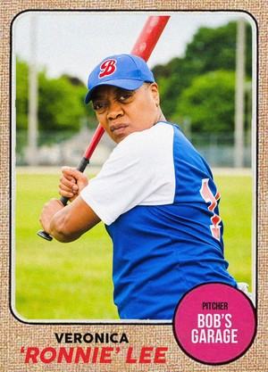 Trading Card ~ Ronnie Lee (5x09 'The M.V.P.')