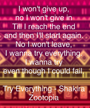 Try everything quote