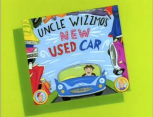 Uncle Wizzmo's New Used Card titlecard