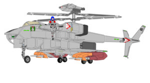 "VFH-12 Super Auroran , a.k.a. ""Super AGAC"" (Gyrodyne mode ) and Aurora Sterling"