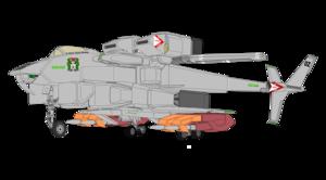 VFH-12B Super Auroran (Super AGAC) with tandem
