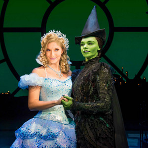 Vanessa Hudgens and Anneliese van der Pol as Elphaba and Glinda (Movie Fancast)